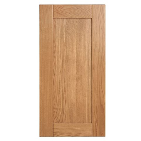 Cooke & Lewis Chesterton Solid Oak Tall Standard Door (W)450mm