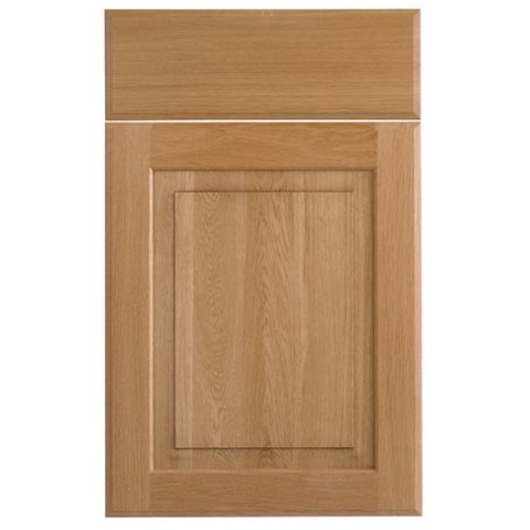 Cooke & Lewis Chesterton Solid Oak Classic Drawerline Door & Drawer Front (W)450mm, Set of 2