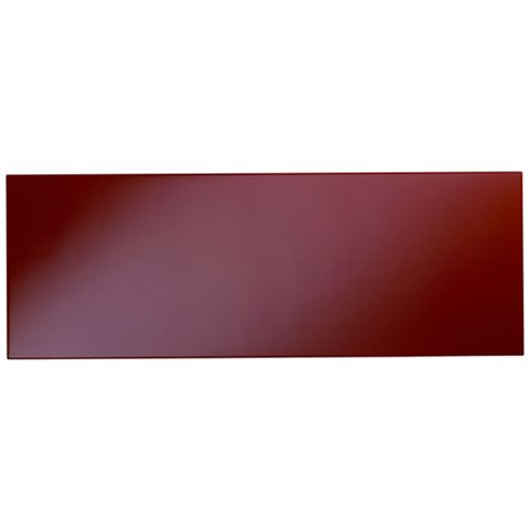 Cooke & Lewis Raffello High Gloss Red Slab Bridging Door / Pan Drawer Front (W)1000mm