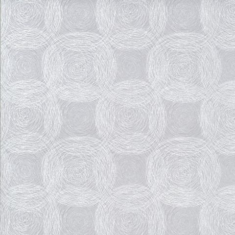 Lila White & Grey Circles Wallpaper
