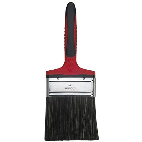Diall Straight Cut Flat Masonry Brush (W)4