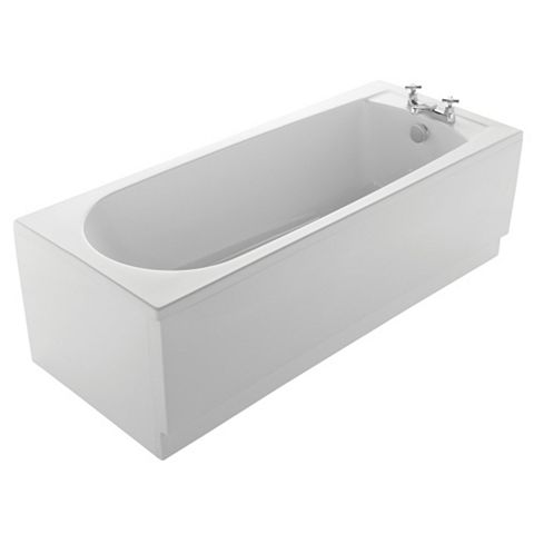 Plumbsure Acrylic Rectangular Straight Bath (L)1700mm (W)700mm