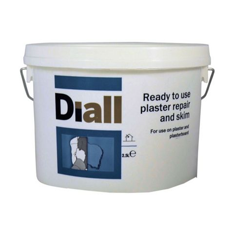 B&Q Internal Plaster Repair 2.5L White