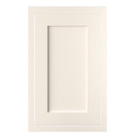 Cooke & Lewis Carisbrooke Ivory Framed Standard Door (W)450mm