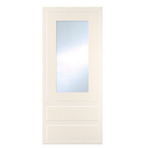 Cooke & Lewis Carisbrooke Ivory Framed Dresser Door & Drawer Front (W)500mm, Set of 3