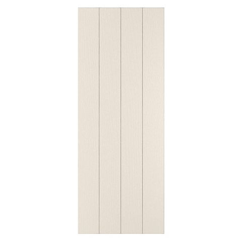 Cooke & Lewis Carisbrooke Ivory Clad On Tall Wall Panel, 359 x 937mm