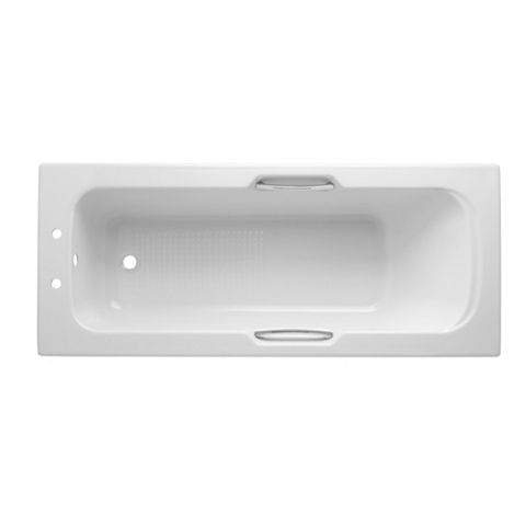 Cooke & Lewis Shaftesbury Acrylic Rectangular Straight Bath (L)1700mm (W)700mm