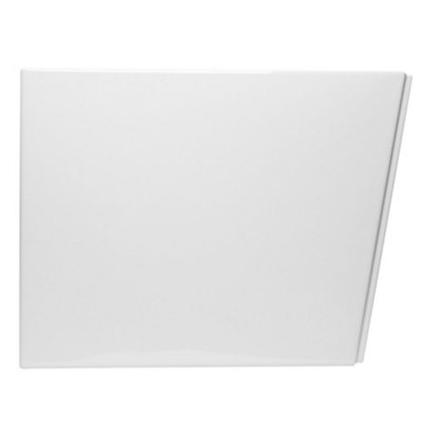 Cooke & Lewis Valeria White Bath End Panel (W)750mm