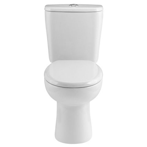 Cooke & Lewis Perdita Close-Coupled Toilet with Soft Close Seat