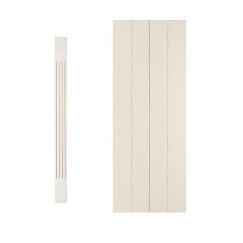 Cooke & Lewis Square Tall Wall Pilaster Kit Carisbrooke (H)940mm (W)115mm (D)355mm