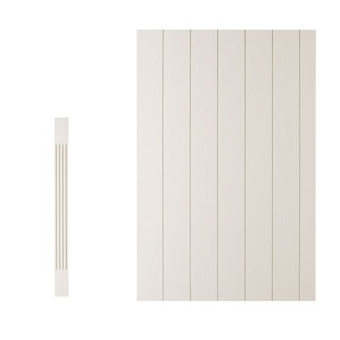 Cooke & Lewis Square Base Pilaster Kit Carisbrooke (H)900mm (W)115mm (D)590mm