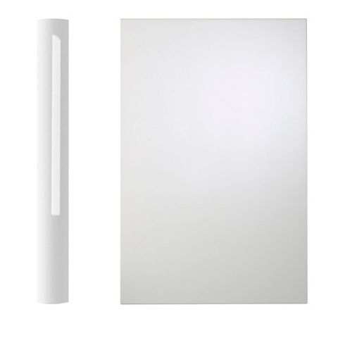 Cooke & Lewis Curved Base Pilaster Kit High Gloss White (H)900mm (W)70mm (D)590mm