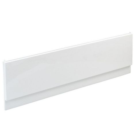 Cooke & Lewis Shaftesbury White White Bath Front Panel (W)1500mm