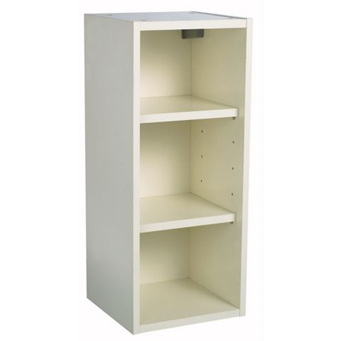 IT Kitchens Cream Open Wall Cabinet (W)300mm