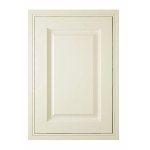 IT Kitchens Holywell Cream Style Classic Framed Fixed Frame Standard Door (W)500mm