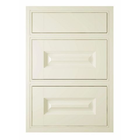 IT Kitchens Holywell Cream Style Classic Framed Drawer Front (W)500mm, Set of 3