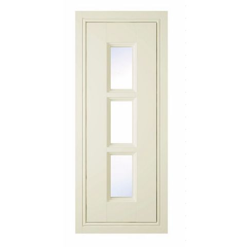 IT Kitchens Holywell Cream Style Classic Framed Glazed Door (W)300mm