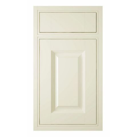 IT Kitchens Holywell Cream Style Classic Framed Drawerline Door & Drawer Front (W)400mm, Set of 1 Door & 1 Drawer Pack