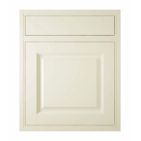 IT Kitchens Holywell Cream Style Classic Framed Drawerline Door & Drawer Front (W)600mm, Set of 1 Door & 1 Drawer Pack