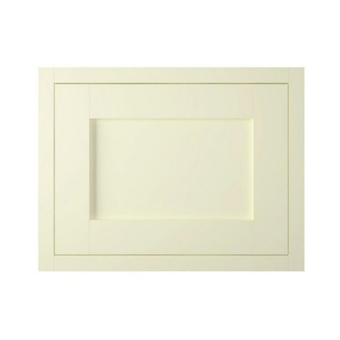 IT Kitchens Holywell Ivory Style Framed Fixed Frame Integrated Extractor Fan Door (W)600mm