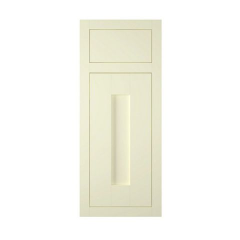 IT Kitchens Holywell Ivory Style Framed Drawerline Door & Drawer Front (W)300mm, Set of 1 Door & 1 Drawer Pack