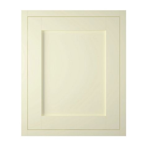IT Kitchens Holywell Ivory Style Framed Standard Door (W)600mm