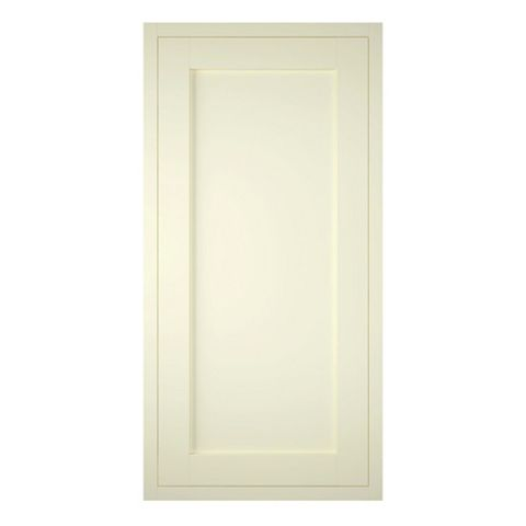 IT Kitchens Holywell Ivory Style Framed Fridge Freezer Door (W)600mm