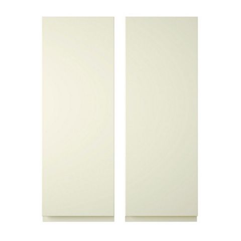 Cooke & Lewis Appleby Cream Corner Door (W)625mm, Set of 2