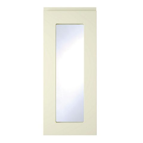 Cooke & Lewis Appleby High Gloss Cream Glazed Door (W)300mm