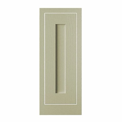 Cooke & Lewis Carisbrooke Taupe Framed Standard Door (W)300mm