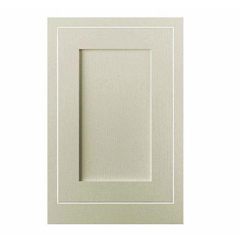 Cooke & Lewis Carisbrooke Taupe Framed Standard Door (W)500mm