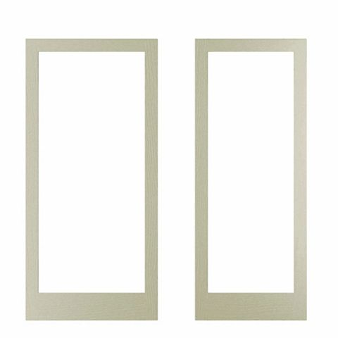 Cooke & Lewis Open Grain Effect Taupe Door Frame, 335 x 44 x 760mm