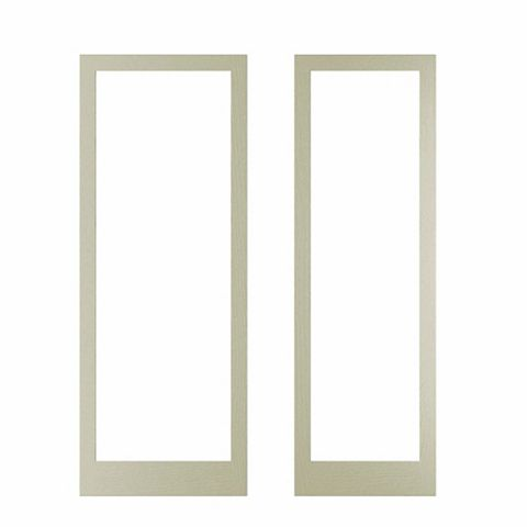 Cooke & Lewis Open Grain Effect Taupe Door Frame, 335 x 44 x 940mm