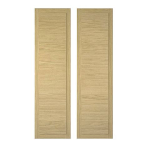 Cooke & Lewis Farleigh Tall Corner Wall Door (W)625mm, Set of 2