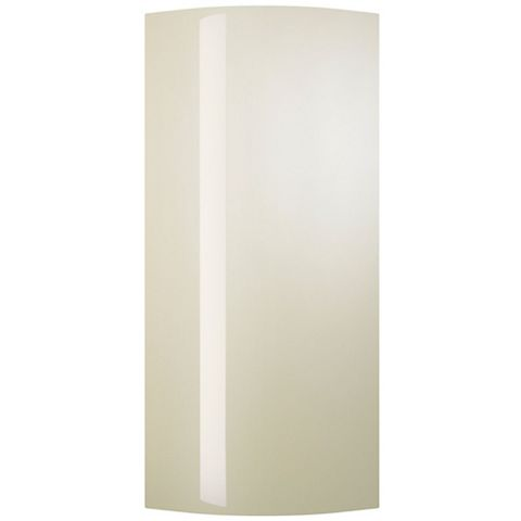 Cooke & Lewis High Gloss Cream Tall Wall Curved Door