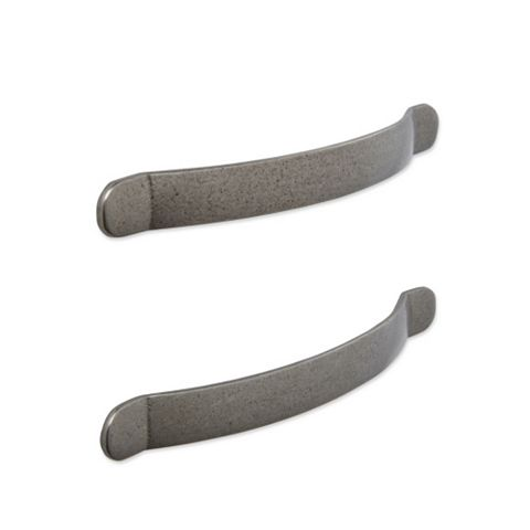 IT Kitchens Antique Pewter Effect D-Shaped Cabinet Handle, Pack of 2