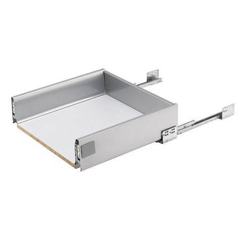 Cooke & Lewis Prestige Stainless Steel Effect Drawer Box (W)400mm
