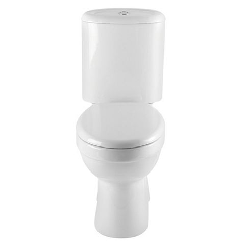 Cooke & Lewis Romeo Modern Close-Coupled Toilet with Soft Close Seat