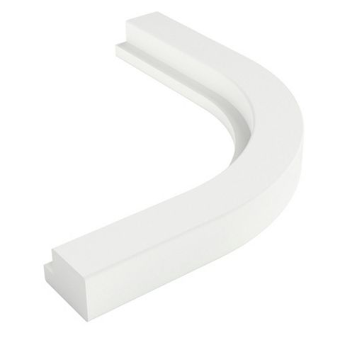 Cooke & Lewis Appleby White Cornice or Pelmet, 363mm
