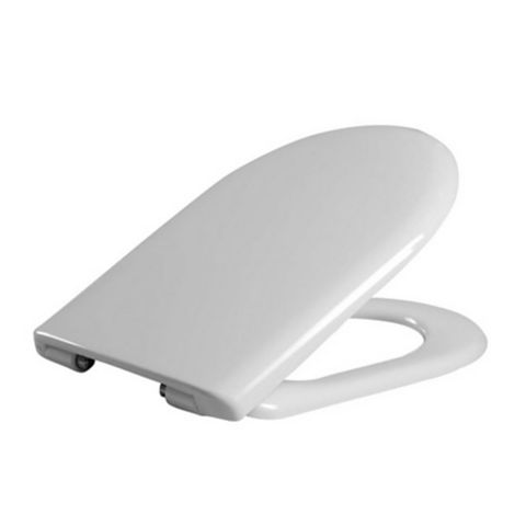 Cooke & Lewis Marianna White Soft Close Toilet Seat