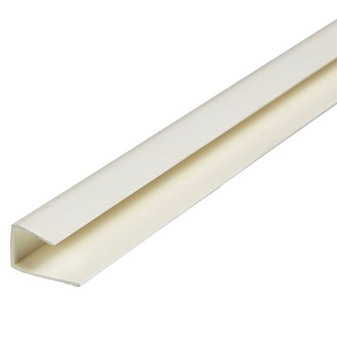 Geom PVCu End Bead 2400 x 20 x 12mm