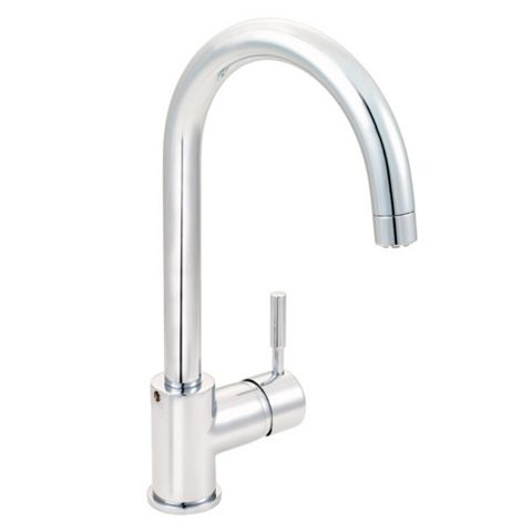 Cooke & Lewis Saru Chrome Effect Lever Tap