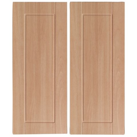 IT Kitchens Chilton Beech Effect Corner Wall Door (W)625mm, Set of 2