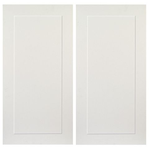 IT Kitchens Stonefield Ivory Classic Style Corner Wall Door (W)625mm, Set of 2