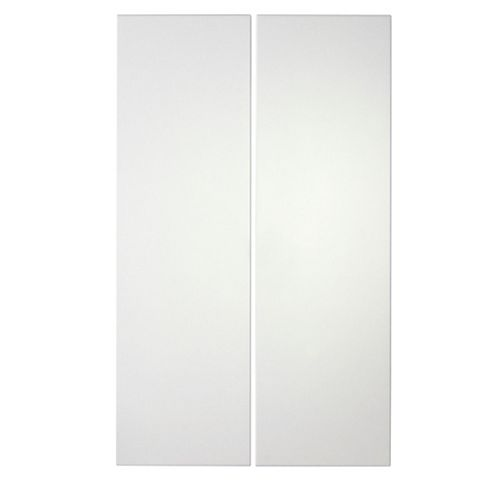 IT Kitchens Stonefield Ivory Classic Style Corner Base Door (W)925mm, Set of 2