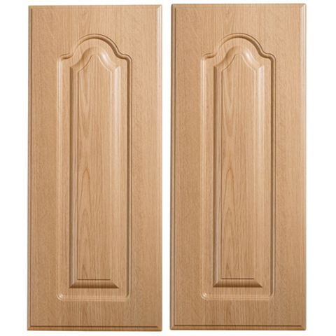IT Kitchens Chilton Traditional Oak Effect Corner Base (W)925mm, Set of 2