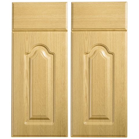 IT Kitchens Chilton Traditional Oak Effect Corner Base Drawerline Door (W)925mm, Set of 2