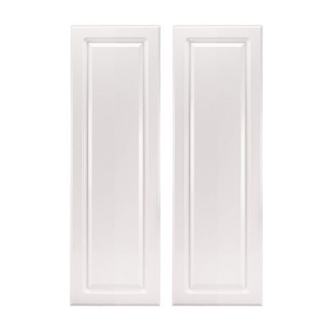 IT Kitchens Chilton Gloss White Style Corner Wall Door (W)625mm, Set of 2