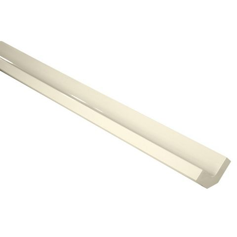Cooke & Lewis Corner Post High Gloss Cream (H)720mm (W)37mm