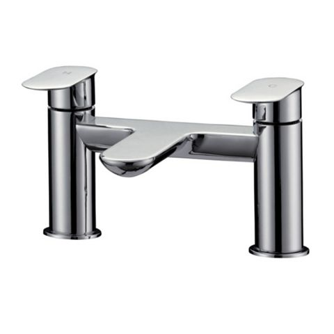 Cooke & Lewis Saru Chrome Bath Mixer Tap